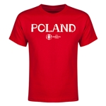 Poland Euro 2016 Youth T-Shirt (Red)