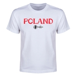 Poland Euro 2016 Youth T-Shirt (White)