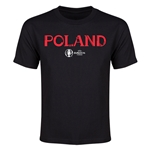 Poland Euro 2016 Youth T-Shirt (Black)