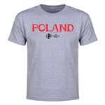 Poland Euro 2016 Youth T-Shirt (Gray)