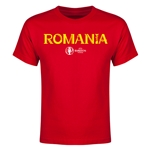 Romania Euro 2016 Youth T-Shirt (Red)