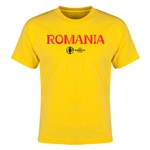Romania Euro 2016 Youth T-Shirt (Yellow)