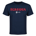 Romania Euro 2016 Youth T-Shirt (Navy)