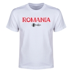 Romania Euro 2016 Youth T-Shirt (White)