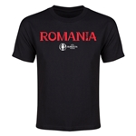 Romania Euro 2016 Youth T-Shirt (Black)
