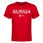 Russia Euro 2016 Youth T-Shirt (Red)