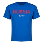 Russia Euro 2016 Youth T-Shirt (Royal)