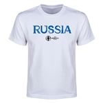 Russia Euro 2016 Youth T-Shirt (White)