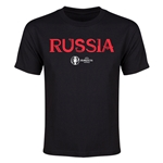Russia Euro 2016 Youth T-Shirt (Black)