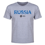 Russia Euro 2016 Youth T-Shirt (Gray)