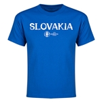 Slovakia Euro 2016 Youth T-Shirt (Royal)