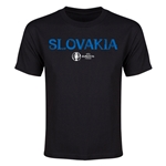 Slovakia Euro 2016 Youth T-Shirt (Black)