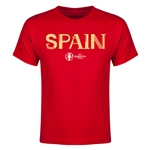 Spain Euro 2016 Youth T-Shirt (Red)