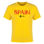 Spain Euro 2016 Youth T-Shirt (Yellow)