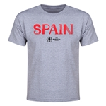 Spain Euro 2016 Youth T-Shirt (Gray)