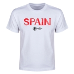 Spain Euro 2016 Youth T-Shirt (White)