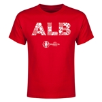 Albania Euro 2016 Elements Youth T-Shirt (Red)
