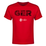 Germany Euro 2016 Elements Youth T-Shirt (Red)
