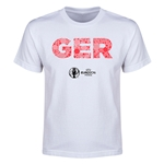 Germany Euro 2016 Elements Youth T-Shirt (White)