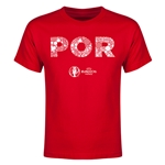 Portugal Euro 2016 Elements Youth T-Shirt (Red)