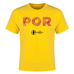 Portugal Euro 2016 Elements Youth T-Shirt (Yellow)