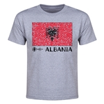 Albania Euro 2016 Heart Youth T-Shirt (Grey)