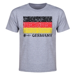Germany Euro 2016 Heart Youth T-Shirt (Grey)