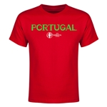 Portugal Euro 2016 Youth T-Shirt (Red)