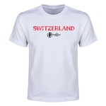 Switzerland Euro 2016 Youth T-Shirt (White)