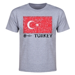 Turkey Euro 2016 Youth T-Shirt (Grey)