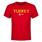 Turkey Euro 2016 Youth T-Shirt (Red)