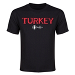 Turkey Euro 2016 Youth T-Shirt (Black)