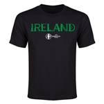 Ireland Euro 2016 Youth T-Shirt (Black)