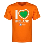 Ireland Euro 2016 Heart Youth T-Shirt (Orange)