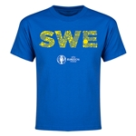 Sweden Euro 2016 Elements Youth T-Shirt (Royal)
