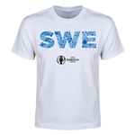 Sweden Euro 2016 Elements Youth T-Shirt (White)