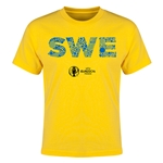 Sweden Euro 2016 Elements Youth T-Shirt (Yellow)