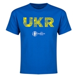 Ukraine Euro 2016 Elements Youth T-Shirt (Royal)