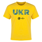 Ukraine Euro 2016 Elements Youth T-Shirt (Yellow)