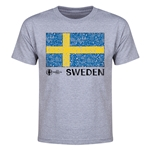 Sweden Euro 2016 Youth T-Shirt (Grey)