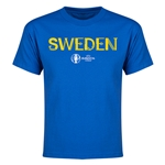 Sweden Euro 2016 Youth T-Shirt (Royal)