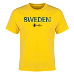 Sweden Euro 2016 Youth T-Shirt (Yellow)