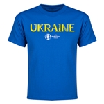Ukraine Euro 2016 Youth T-Shirt (Royal)