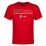 Portugal UEFA Euro 2016 Champions Youth T-Shirt (Red)