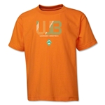 Werder Bremen Pixel Graphic Youth T-Shirt (Orange)