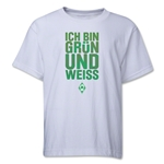 Werder Bremen I Am Green and White Youth T-Shirt (White)
