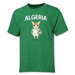 Algeria Animal Mascot Youth T-Shirt (Green)