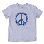 Objectivo Peace & Soccer Youth/Infant T-Shirt (Gray)