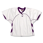 Warrior Liberty Game Lacrosse Jersey (Wh/Pu)