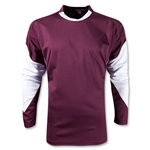 Warrior Orion Long Sleeve Shooters Shirt (Maroon/Wht)